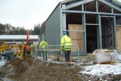 Fixing Wall Cladding at Alwen WTW