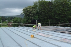 Kingzip Roof Installation