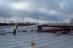 Installing New Kingspan KS1000LP Panels