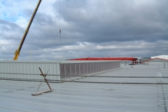 Roof alterations at Deeside, North Wales