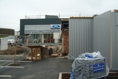 Kingspan FC cladding panels vertically laid