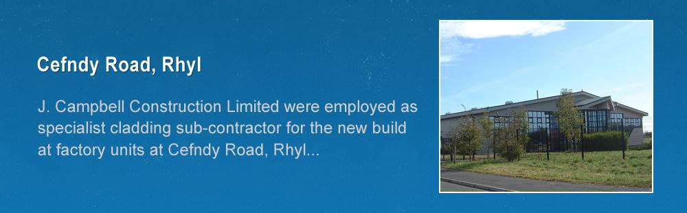 Cefndy Road, Rhyl.