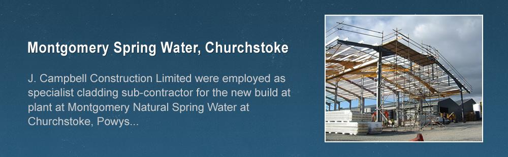 Montgomery Spring Water, Churchstoke